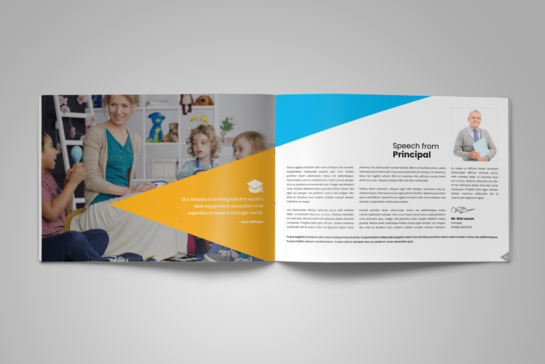 Education Prospectus Brochure v12 example image 3