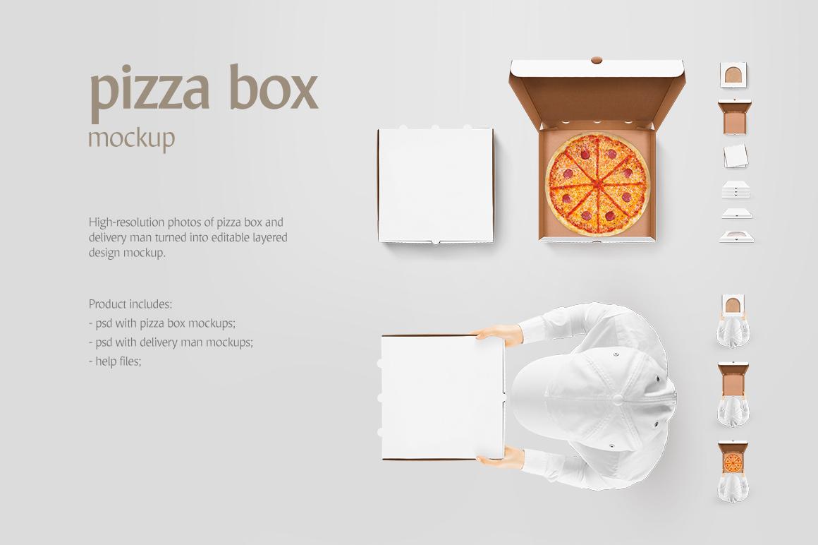 pizza box mockup example image 2