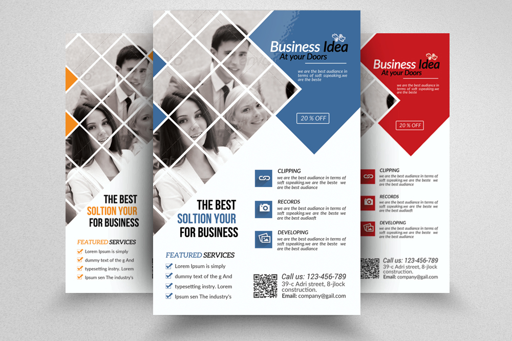 Business Dealing flyer  example image 1