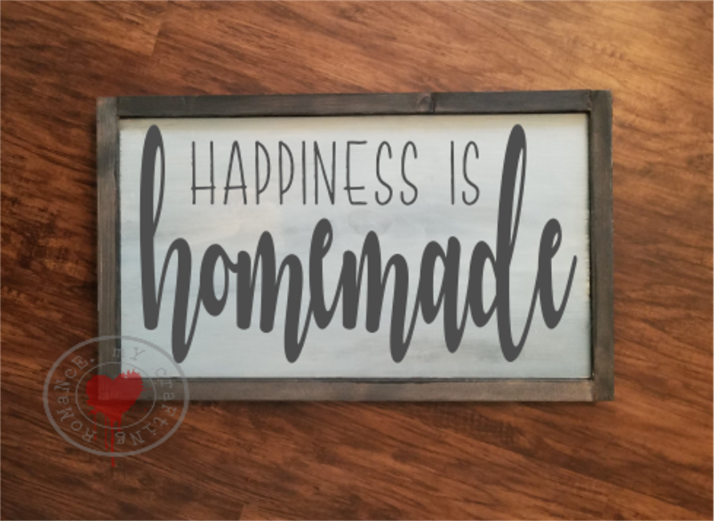 Happiness Is Homemade - SVG example image 2