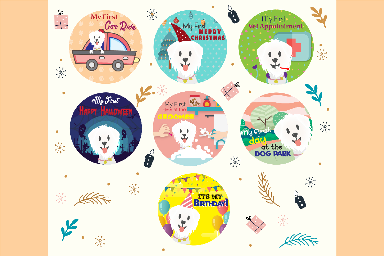 Dog stickers example image 4
