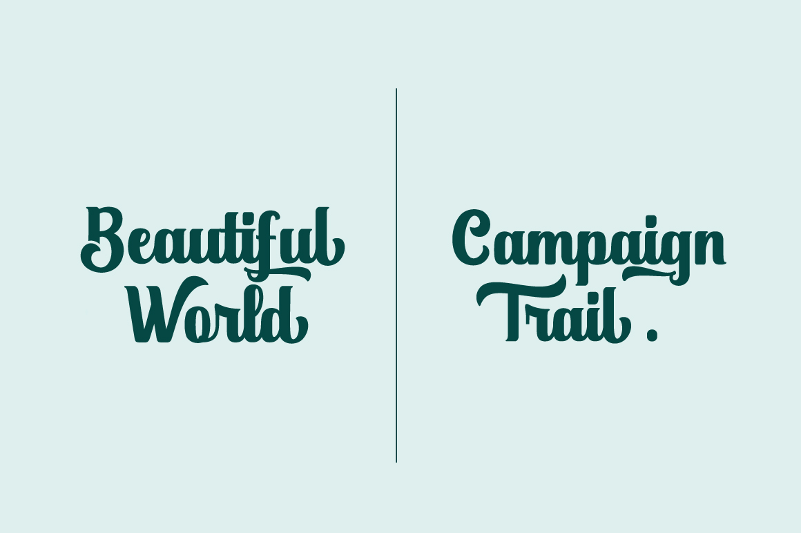 Duffish - Logo Font example image 8