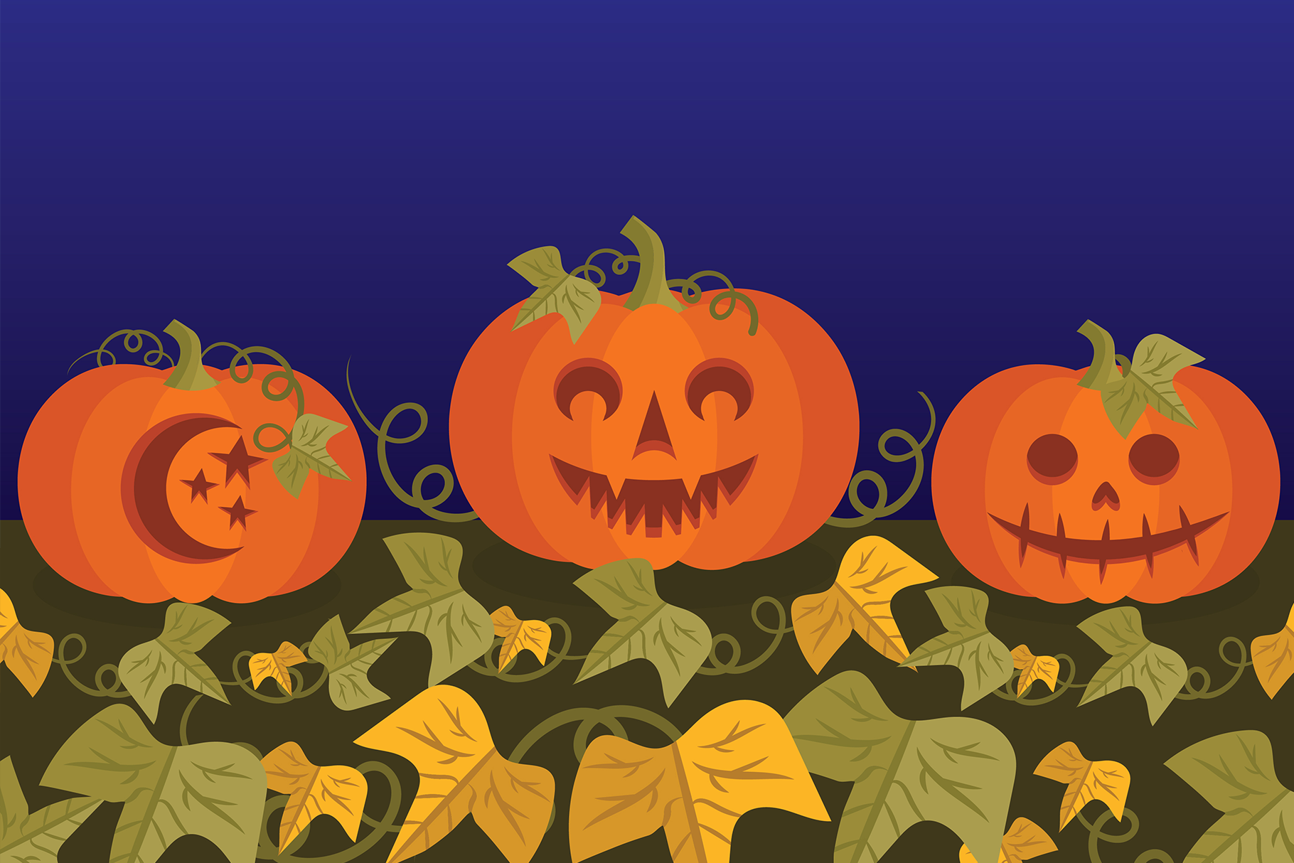 Fall Pumpkins Clip Art Set example image 6