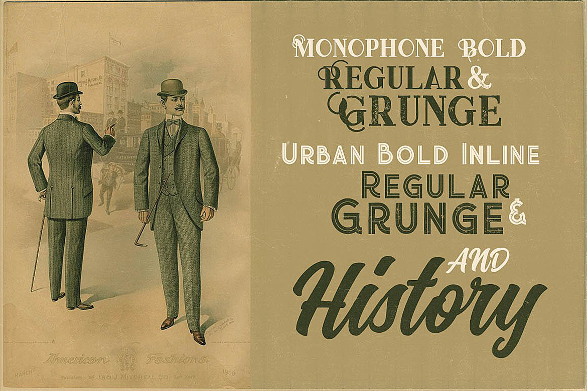 History Font Trio example image 4