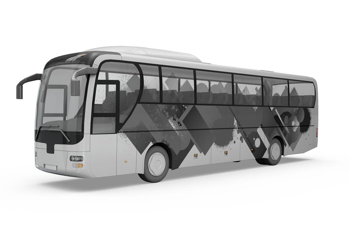 Bus Mockup example image 3