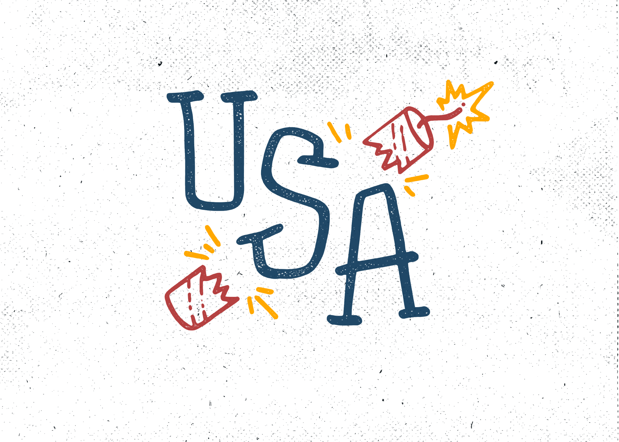 4th of July Americana Lettering Pack example image 6