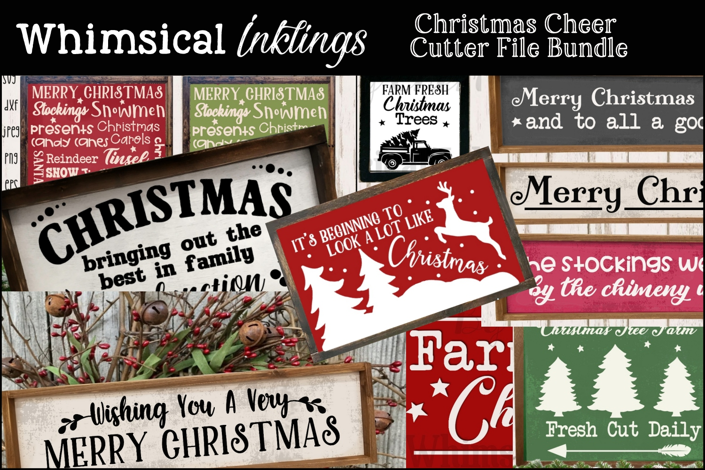 Christmas Cheer SVG Bundle SUPER SAVER example image 1