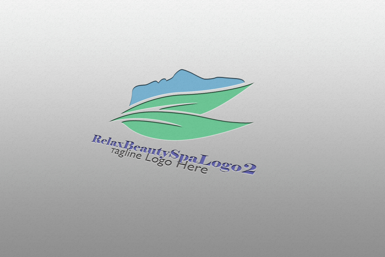Premium Relax Beauty Spa Logo 2 example image 2