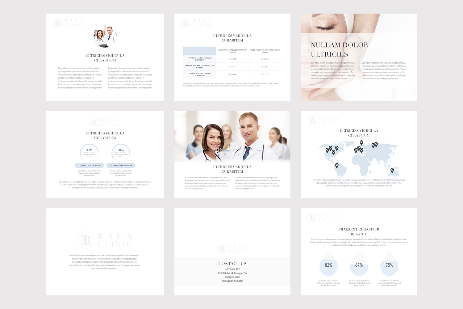 Clinical Theme for Powerpoint example image 2