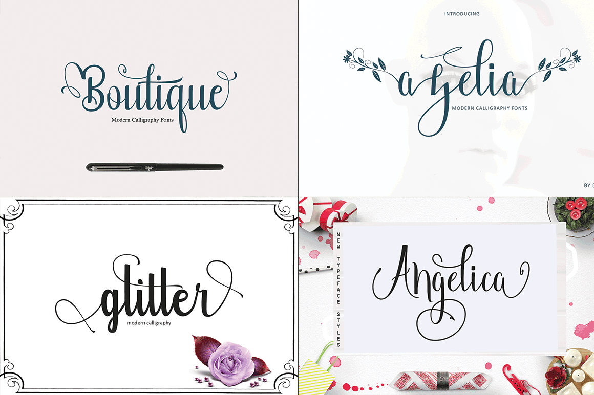 20 Incredible Handwritten Fonts example image 4