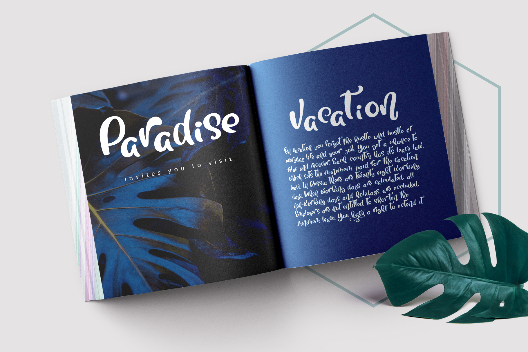 Tropical Summer Font example image 8