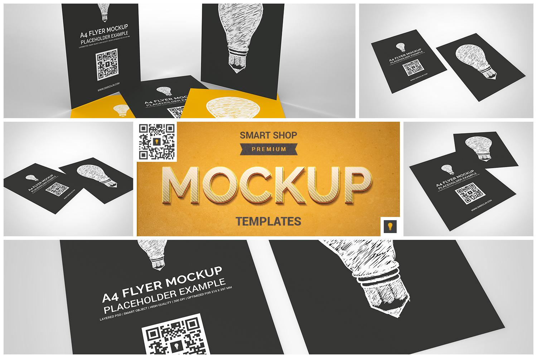 Flyer Mockup Bundle 50% SAVINGS example image 6