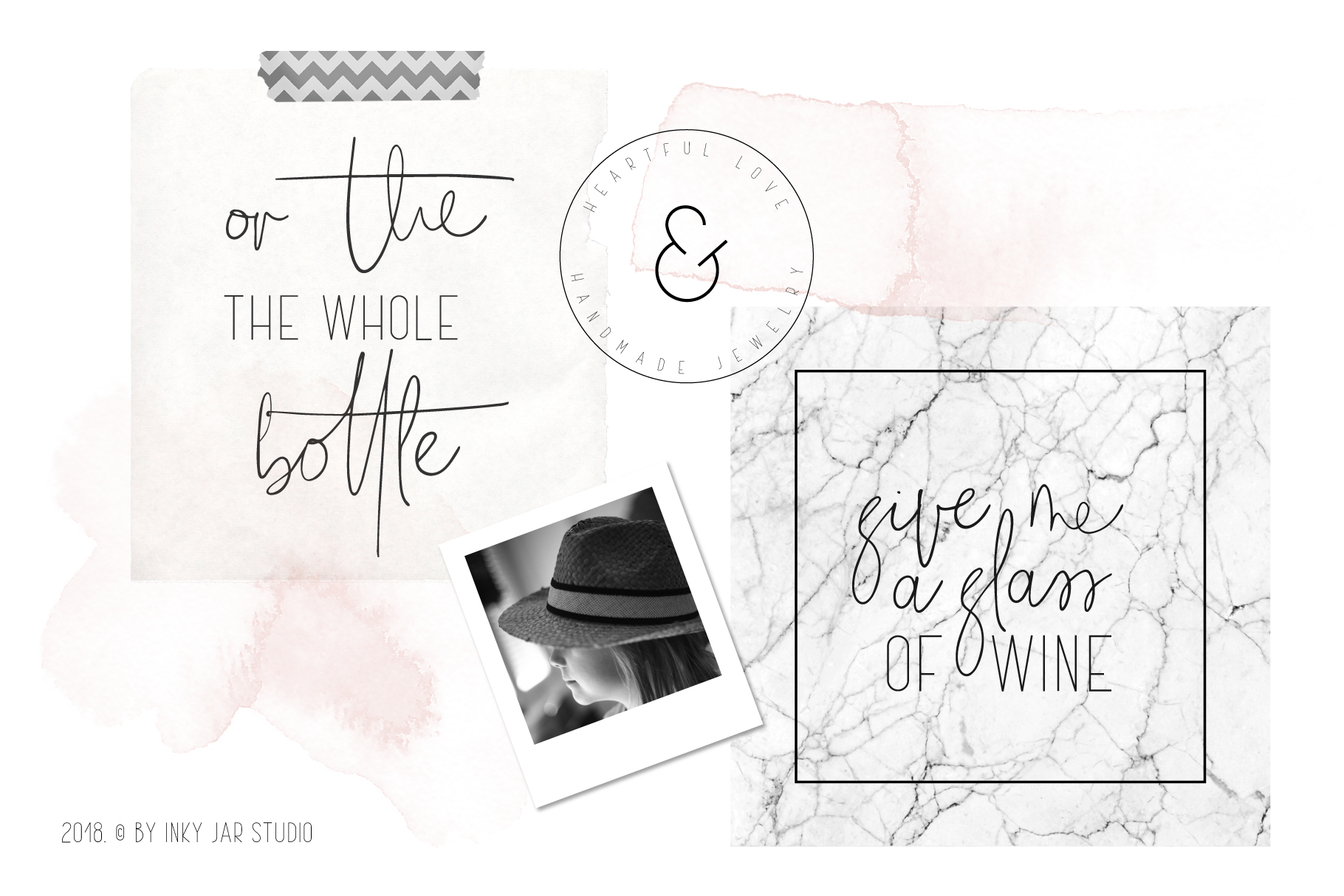 The Girl Font Duo 12 Instagram Post Templates example image 4