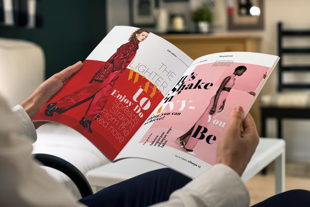 Fashion Magazine Layout Template example image 26