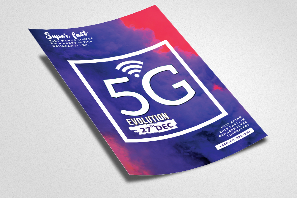 5G Coming Soon Flyer Template example image 2