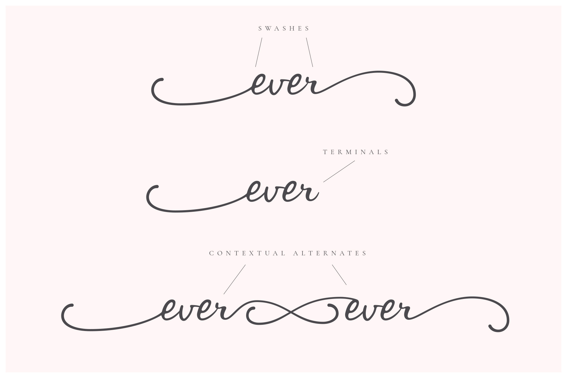 Ever After | A Modern Calligraphy Font example image 4