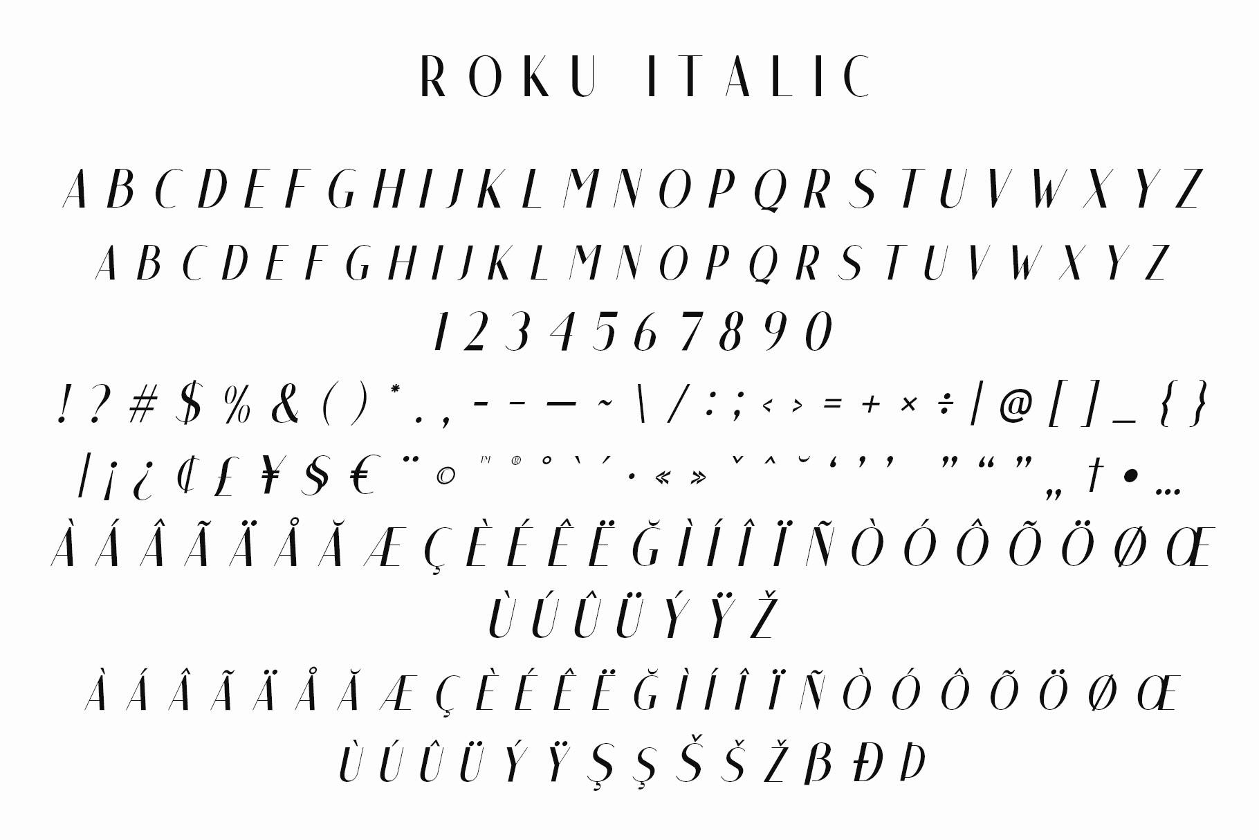 Roku - Modern Sans Serif example image 5