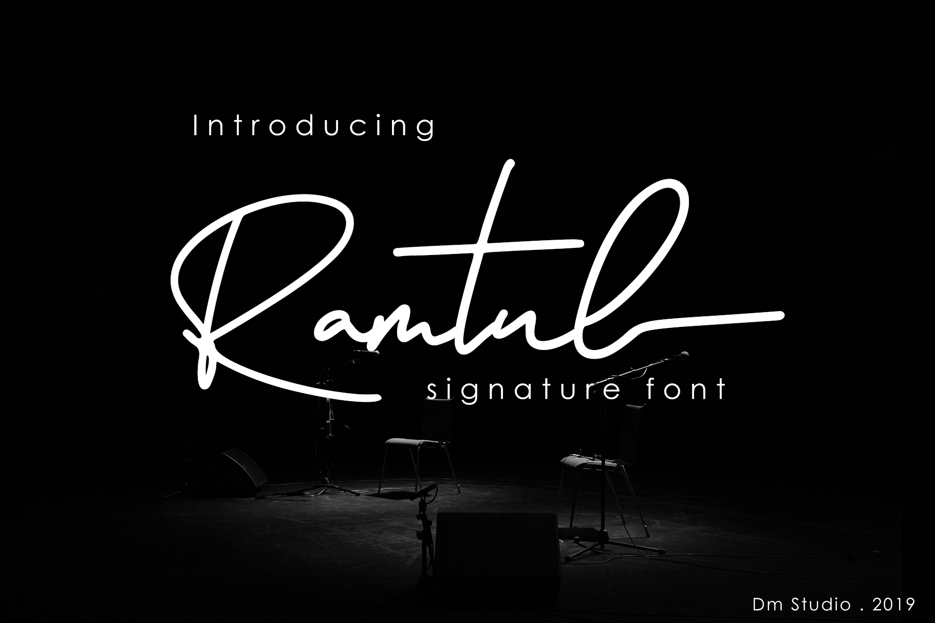 Ramtul - Signature Font example image 1