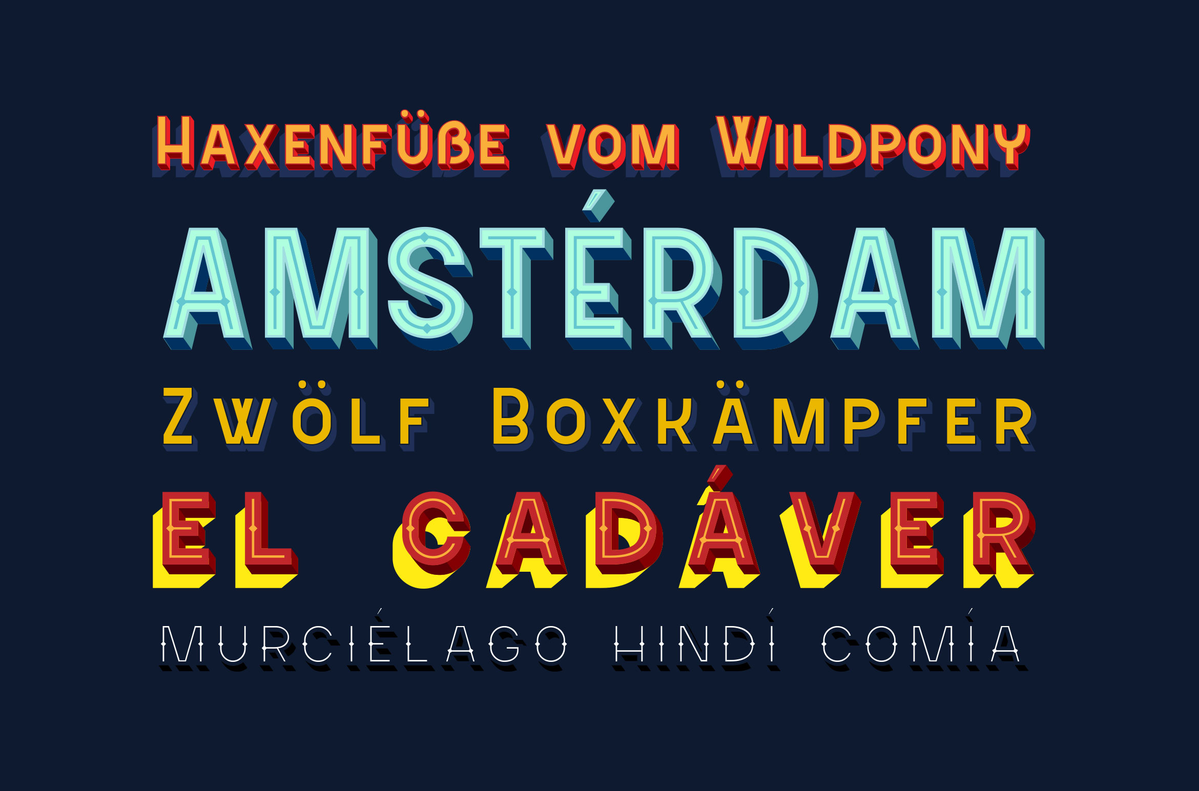 Sevastian - Seven Layered Typeface example image 8