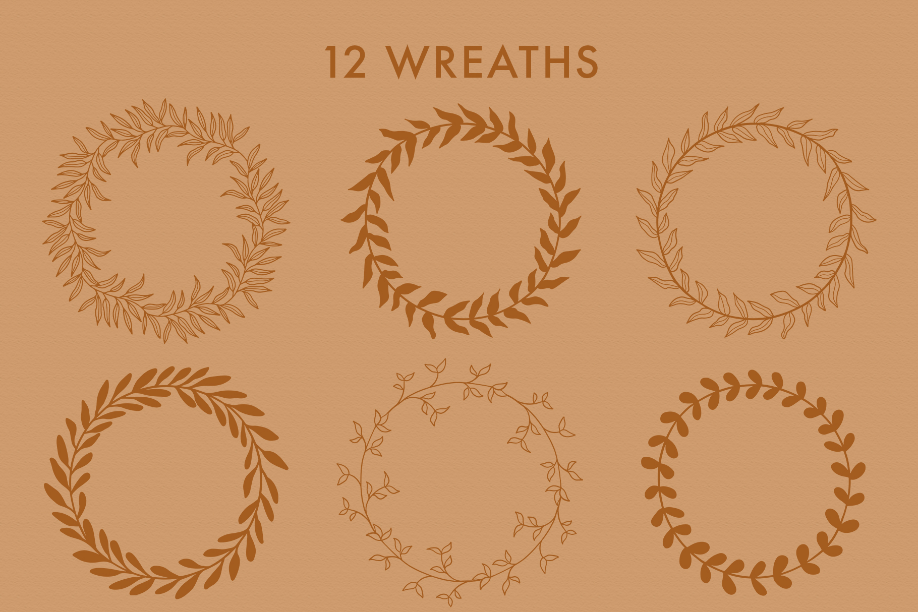 Floral Vector Elements Volume 002 example image 11