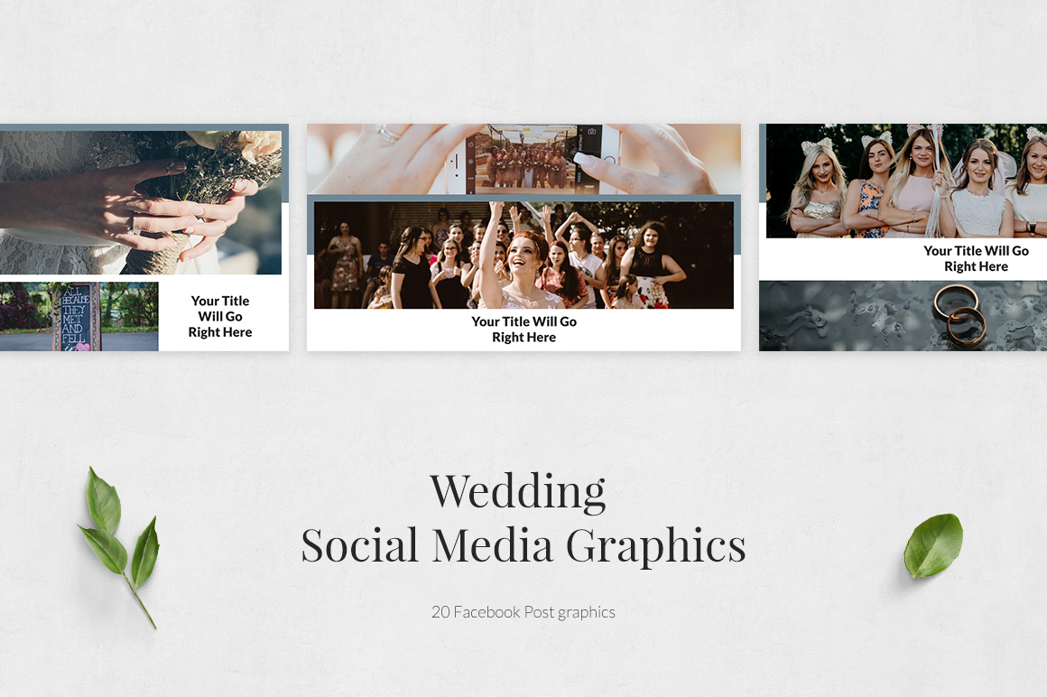 Wedding Facebook Posts example image 2