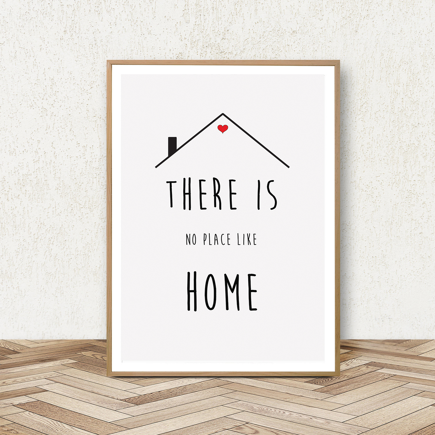 Minimalist Wall Art Quotes, Printable Home Quotes Poster example image 2