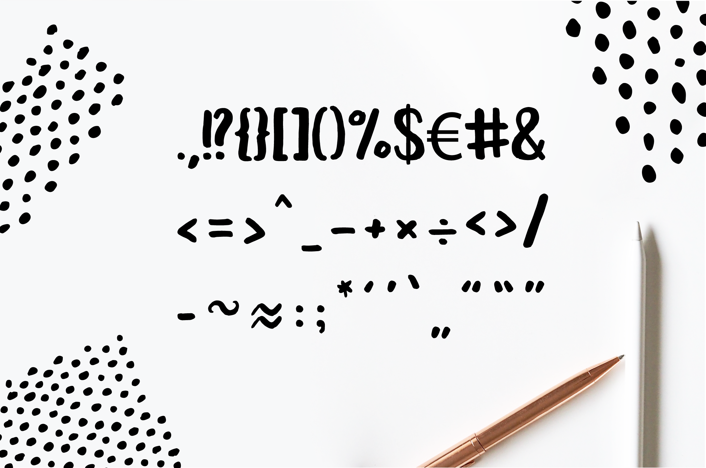 Leira Hand Drawn Brush Font example image 6
