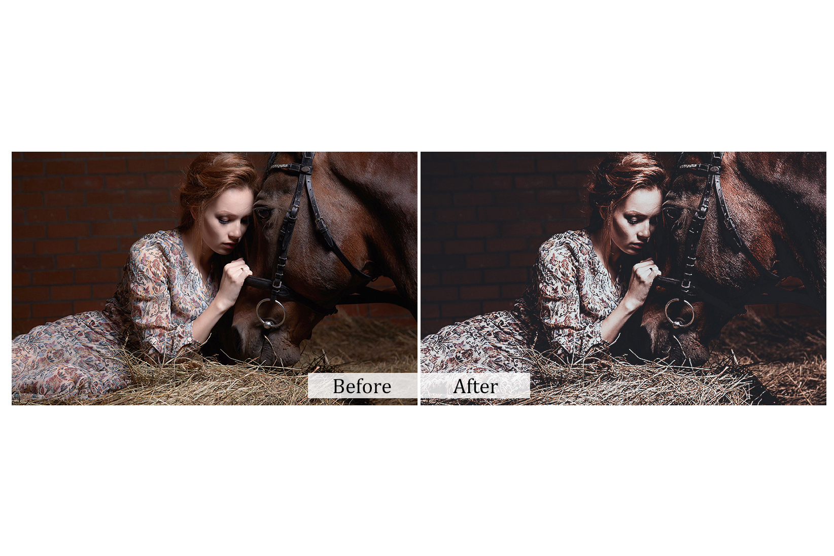 100 Indoor Fashion Photoshop Actions example image 6