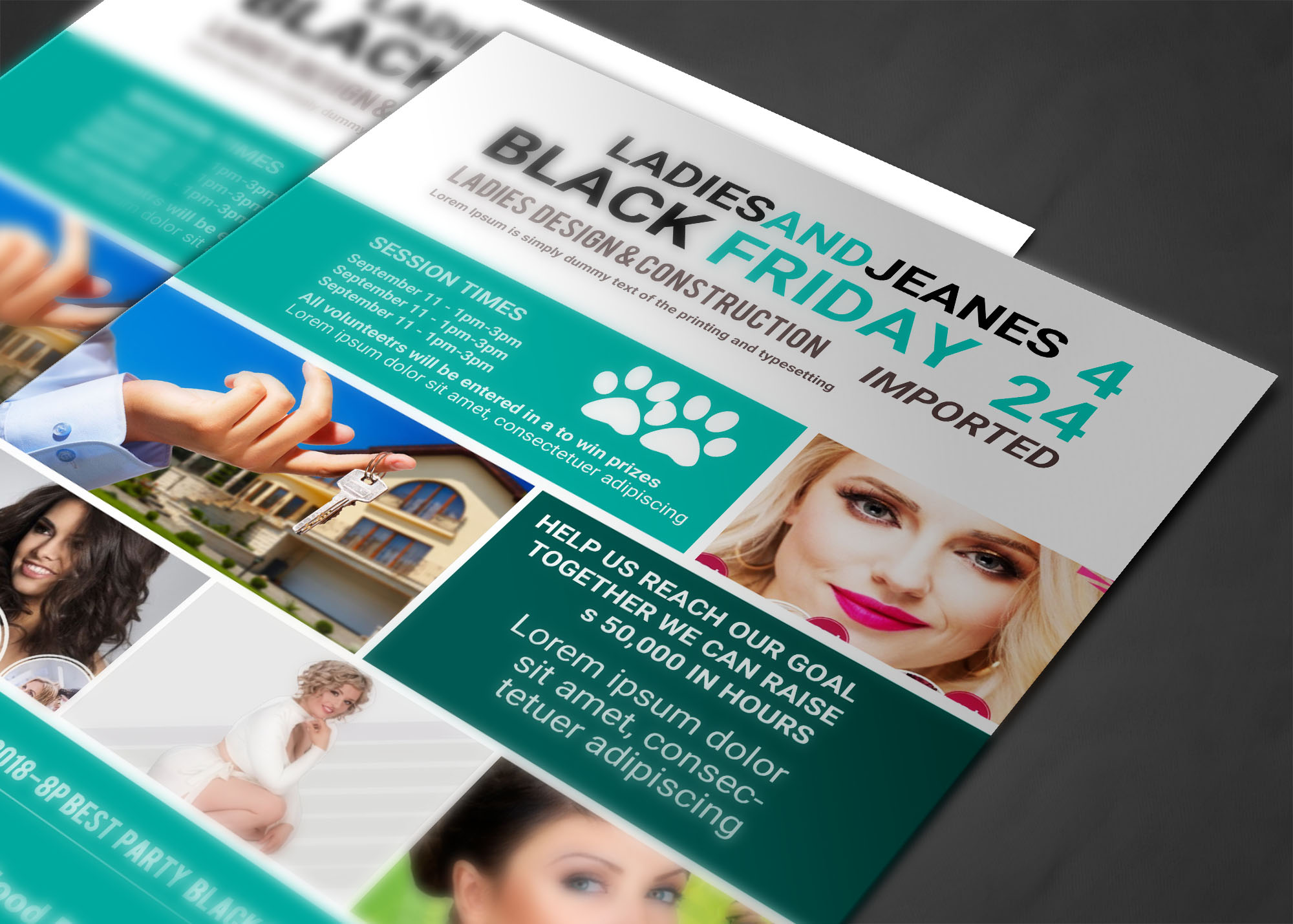BLACK FRIDAY FLYER example image 2