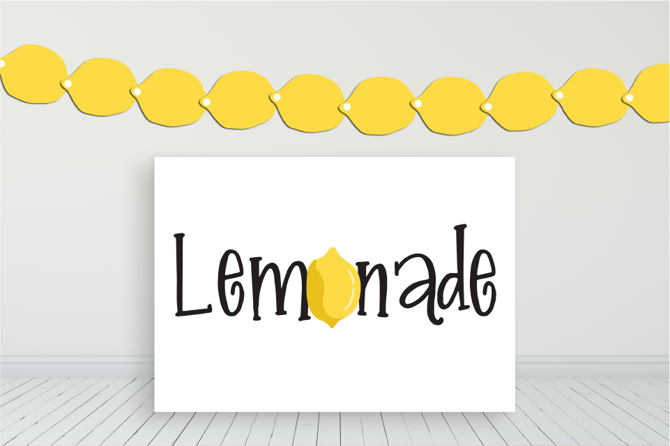 Lemonade Stand Bundle plus bonus posters example image 7
