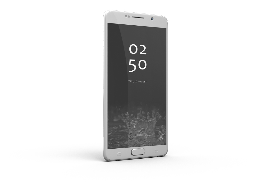 Samsung Galaxy Note 5 Mock-up example image 4