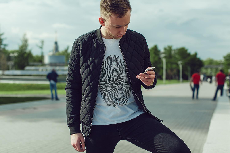 Men's T-Shirt Mock-Up Vol.2 2017 example image 4