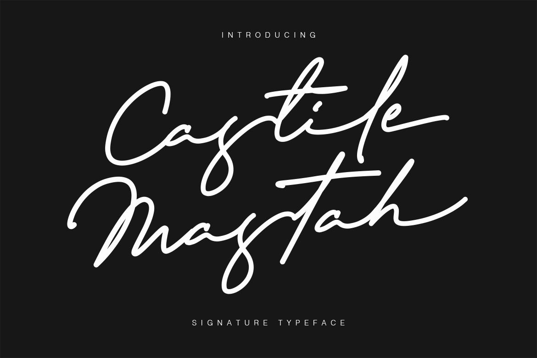 Castile Mastah Signature example image 1