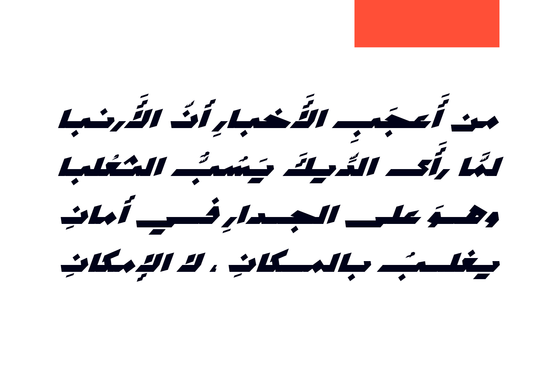 Mawzoon - Arabic Font example image 10