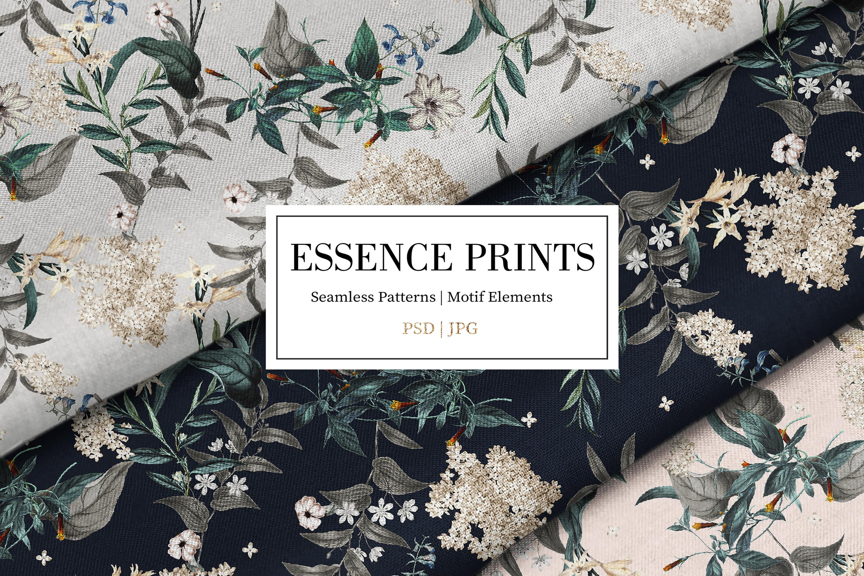 Essence | 3 Seamless Pattern example image 1