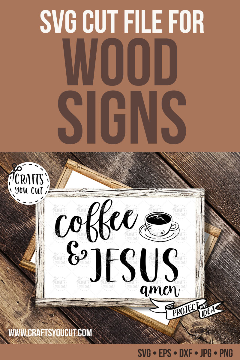Coffee & Jesus - A Coffee/Christian SVG Cut File example image 2