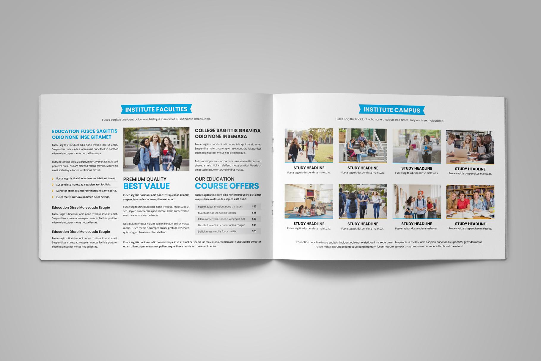 Education Prospectus Brochure v9 example image 6