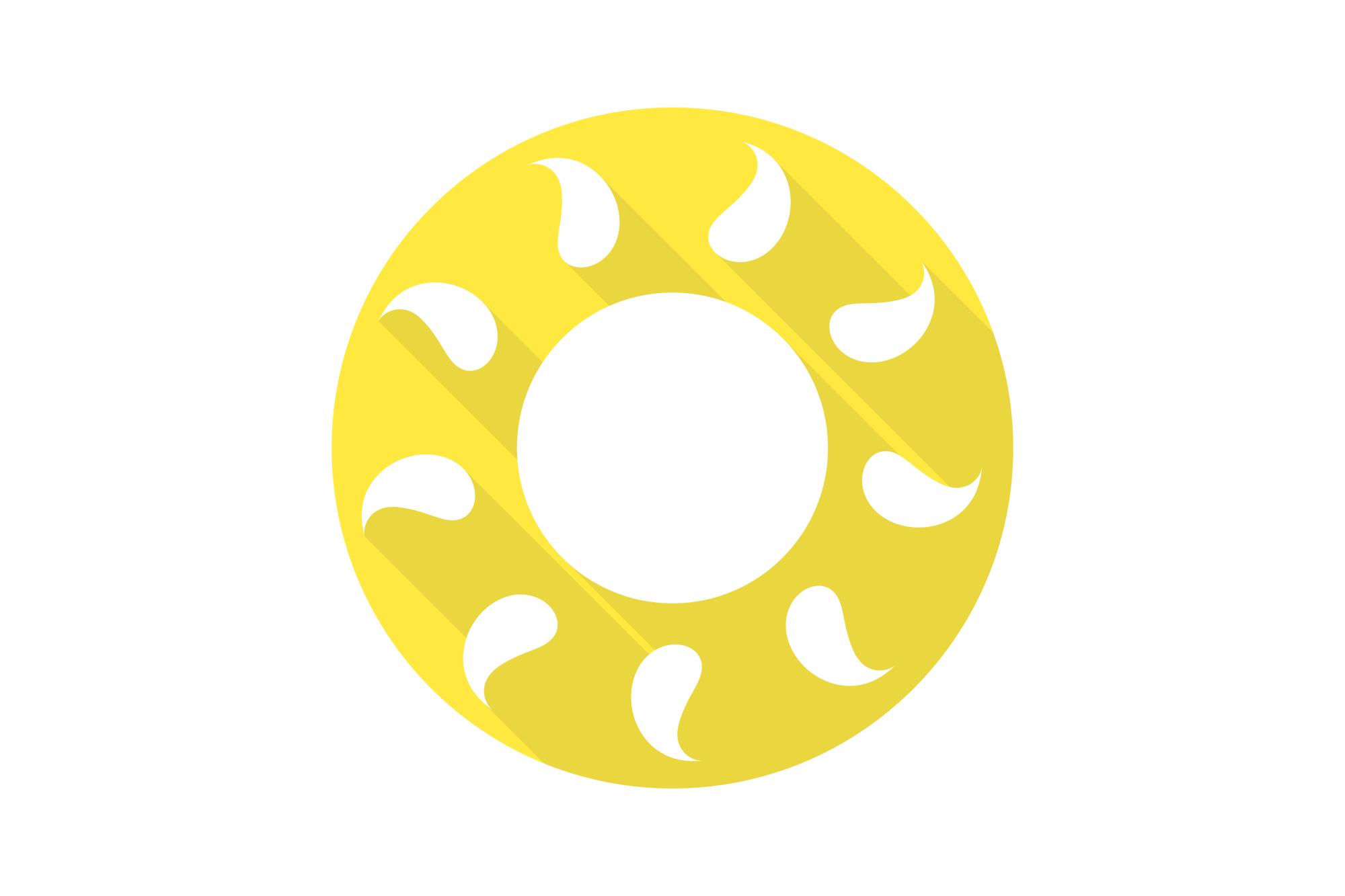 Vector sun icons set. Flat design. example image 10