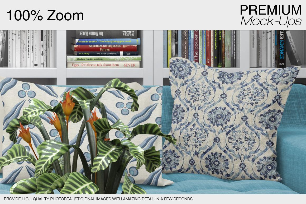 Pillows & Frames Set example image 12