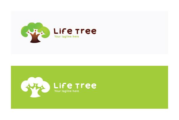 Life Tree - Environment Friendly Community Stock Logo example image 2