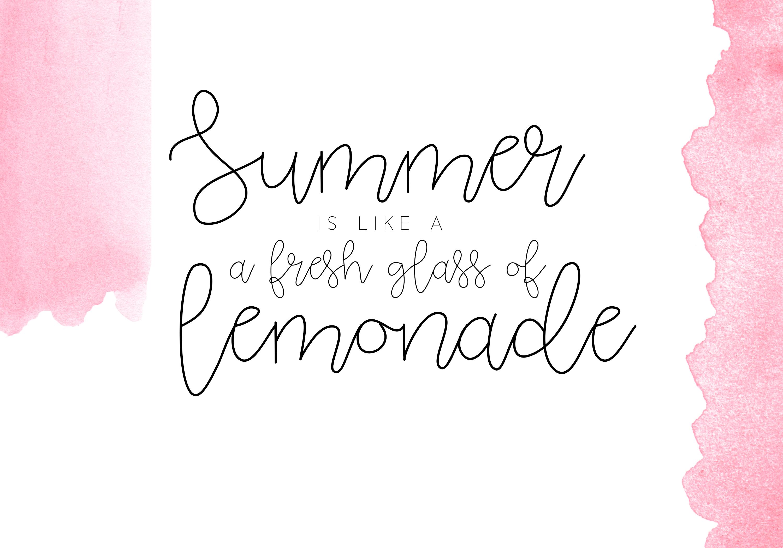 Pink Lemonade - Script Font example image 3