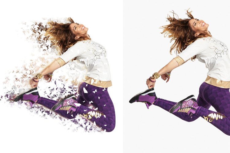 Splatter Dispersion Photoshop Action example image 4