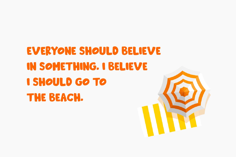 Beachday - Fun Display Font example image 5