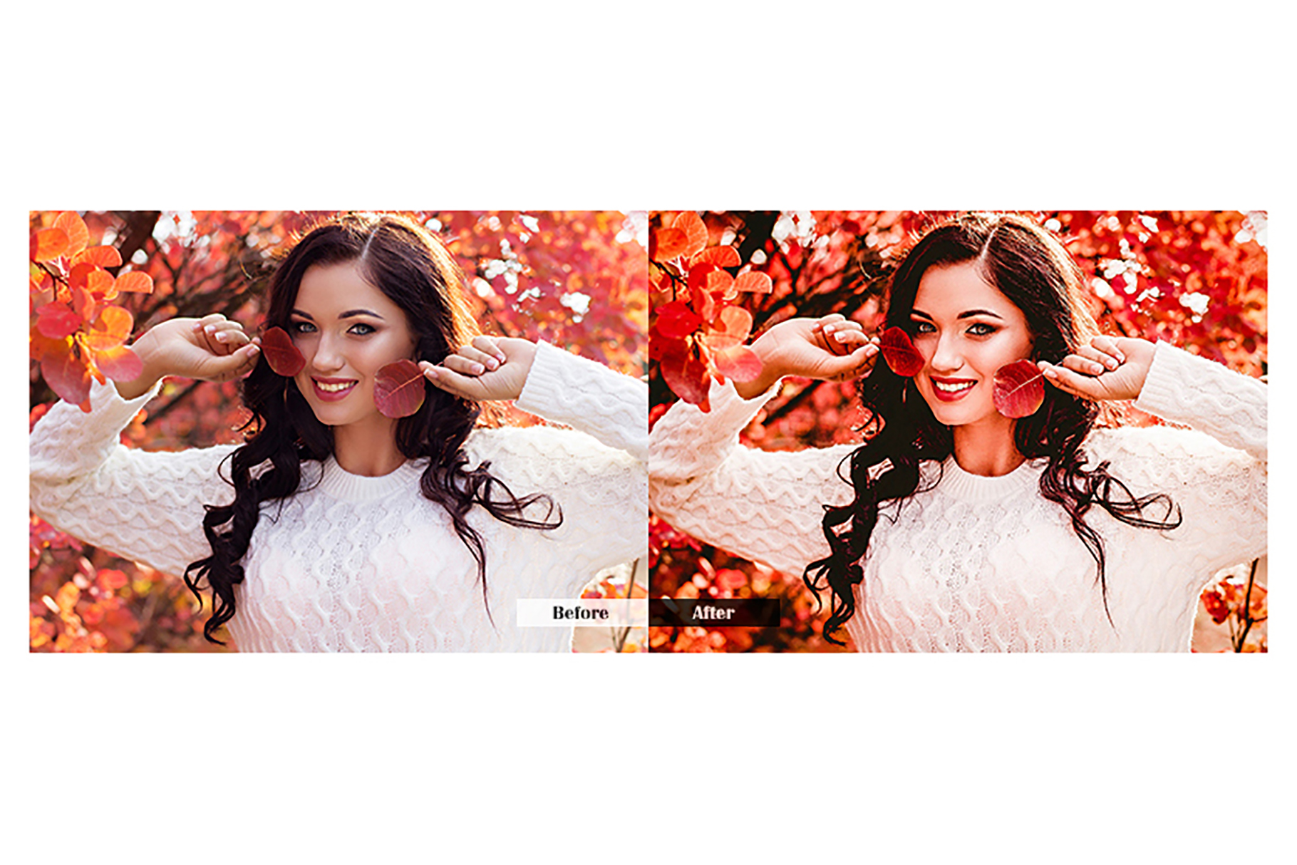 Autumn Lightroom Mobile Presets example image 5