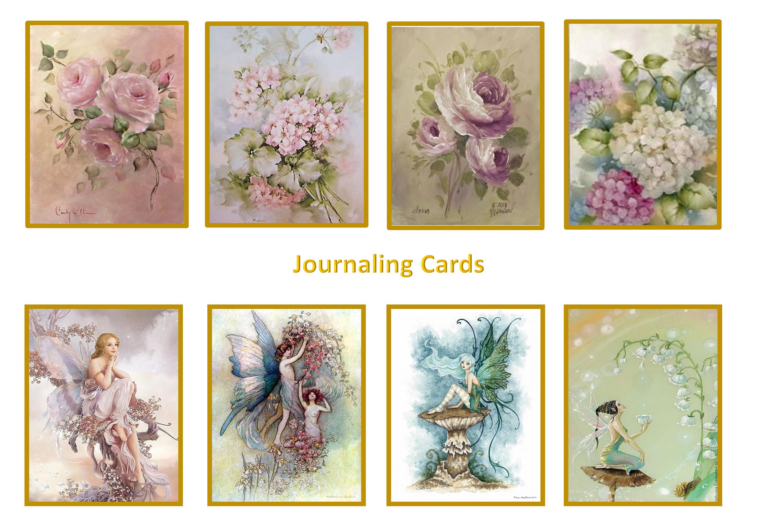 Printable Fairy Journaling Kit, Free Ephemera and PNGs example image 6