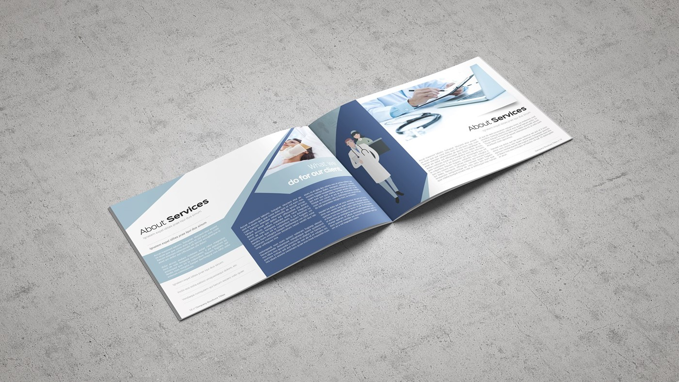 Health & Care Brochure Template example image 3