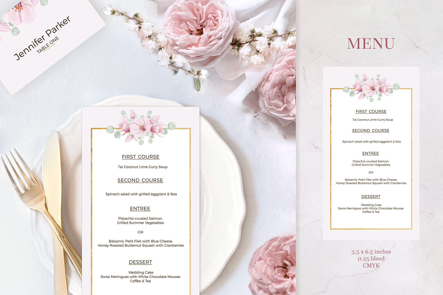 Magnolia & Eucalyptus Wedding Suite example image 4