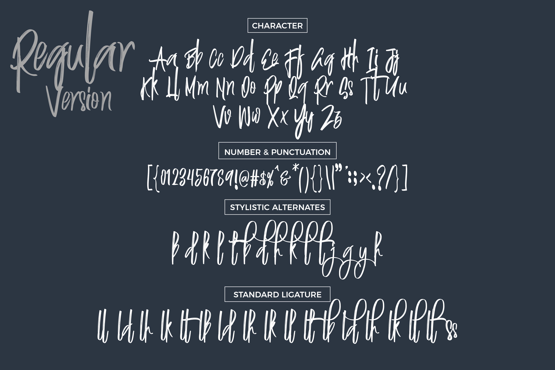 Justin Brush Font example image 8