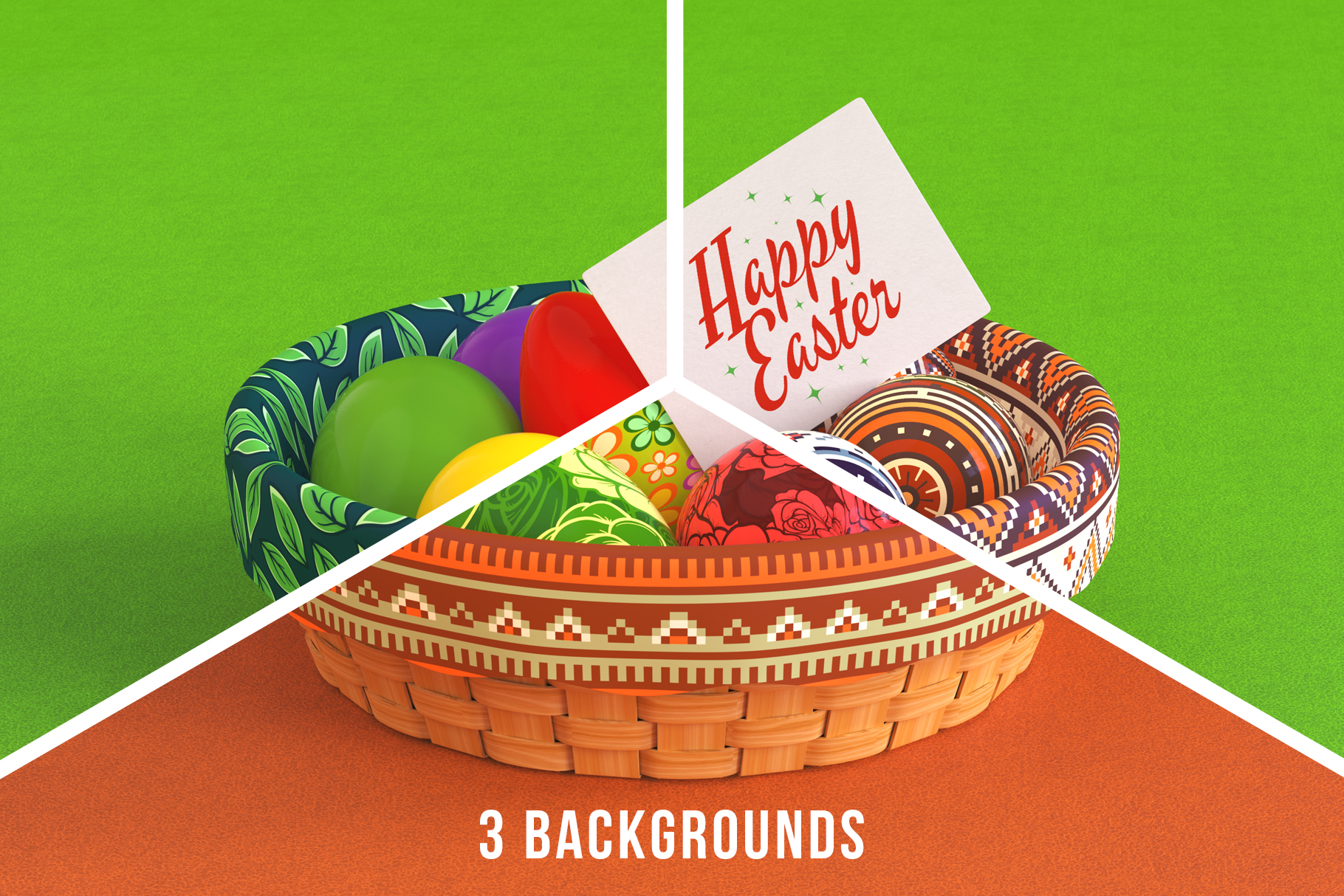 Easter Egg Mockups and Images example image 7
