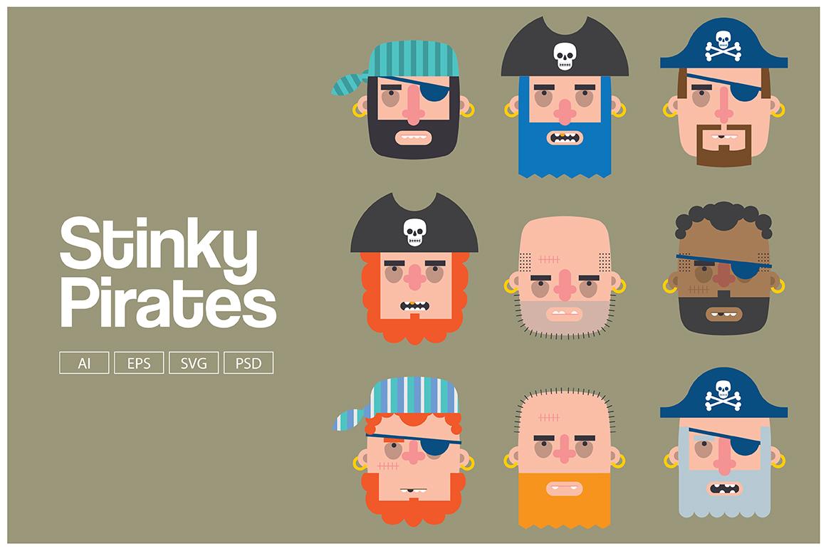 Stinky Pirates example image 1